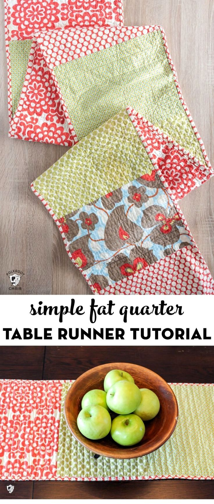 how to make a table runner for beginners