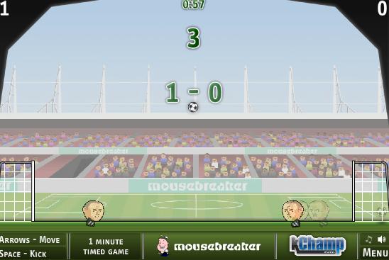 1 On 1 Football Unblocked Fun Football Games Head Soccer Soccer