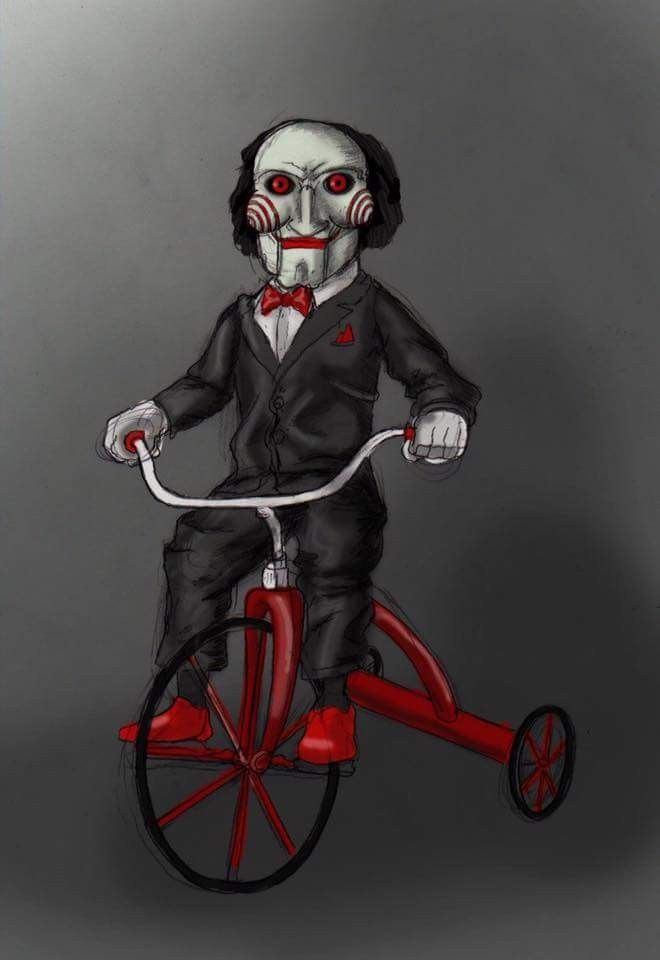 Horror Movie Art Billy The Puppet From Saw Horror Horror