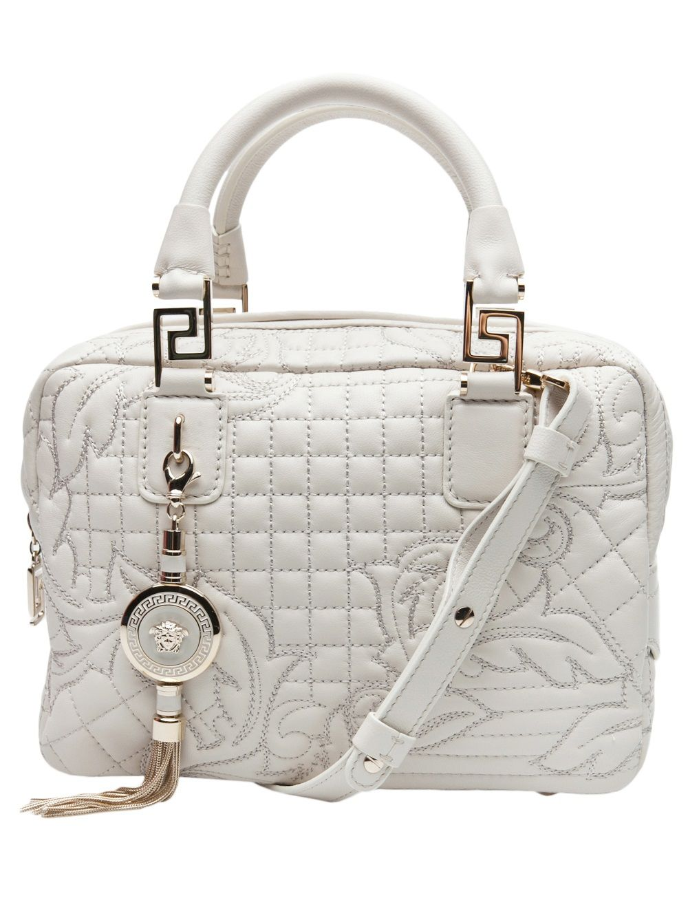 a3921953f724 Versace Vanitas Quilted Bag - David Lawrence - farfetch.com