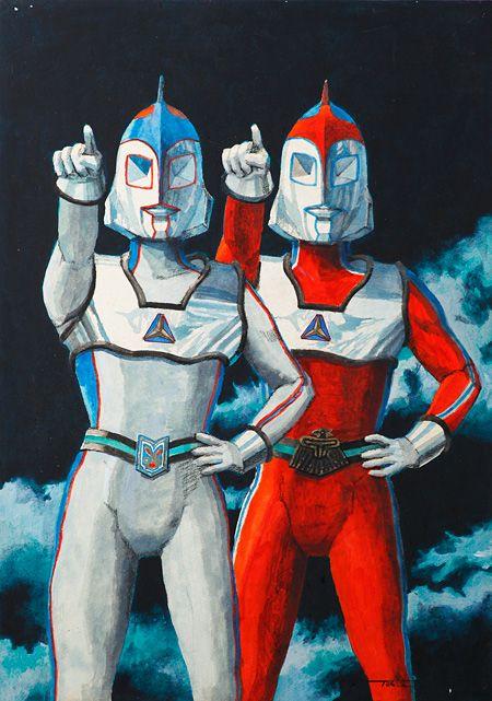 ウルトラマンをデザインした成田亨の回顧展 美術 特撮 怪獣 未公開の怪獣も キャラクターデザイン ウルトラマン イラスト 成田