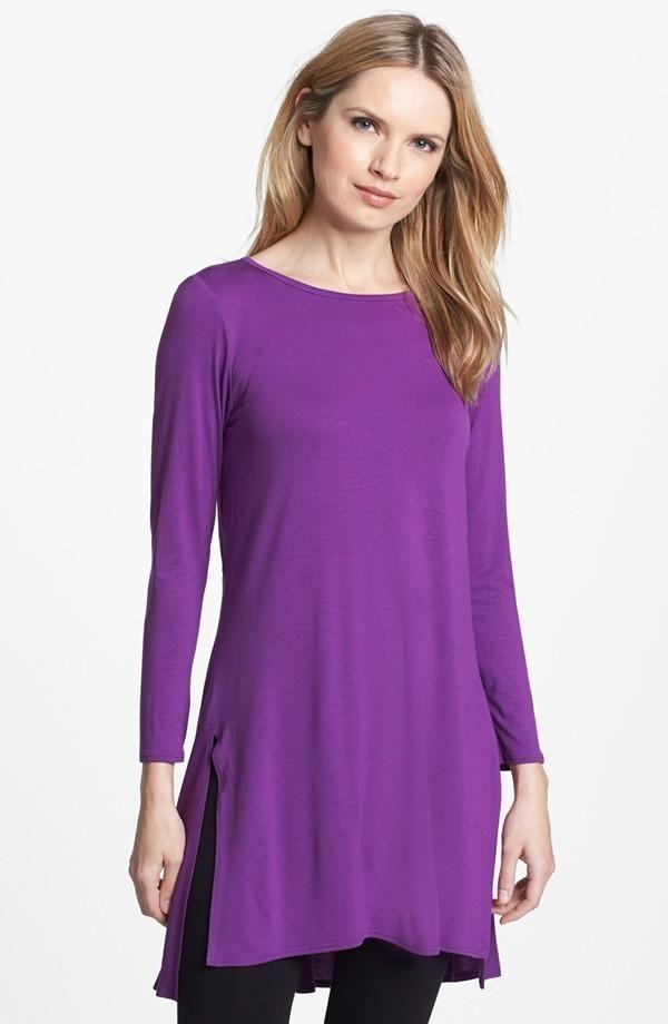 Purple Shirt Dress. | Vestidos trabajo | Pinterest | Estilo de vida ...
