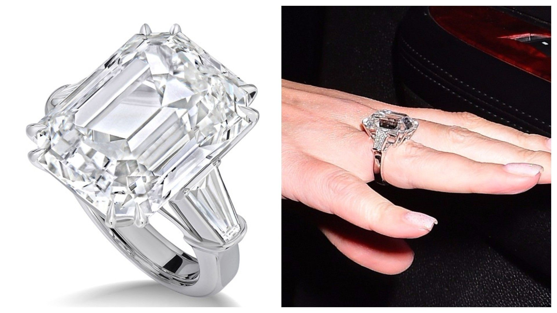 Mariah Carey Diamond Ring | Wedding Dress | Pinterest | Mariah carey ...