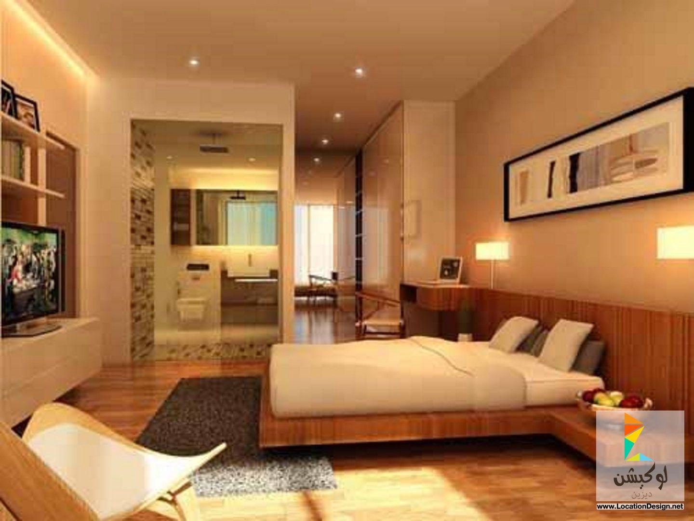 غرف نوم مودرن للأماكن الضيقة لوكيشن ديزاين تصميمات ديكورات أفكار جديدة مص Elegant Master Bedroom Modern Master Bedroom Design Master Bedroom Interior