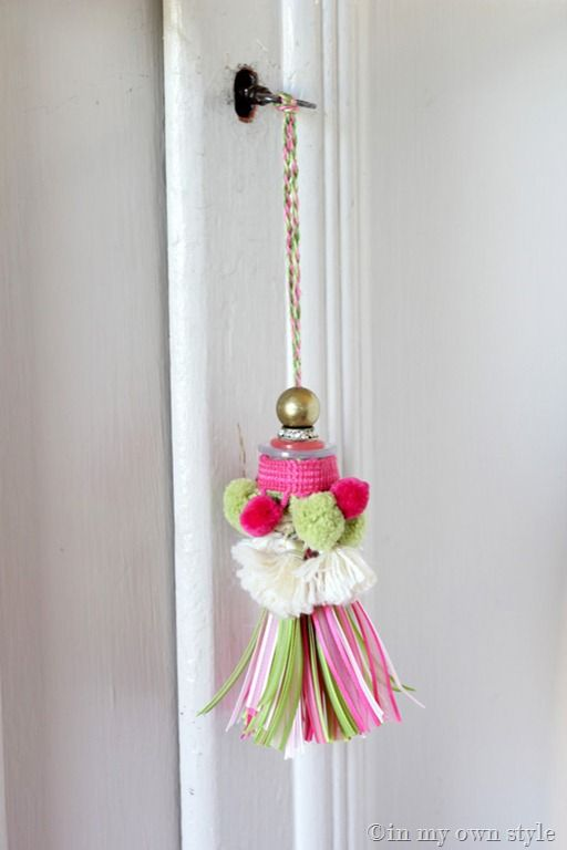 envelope pillow tutorial diy inspired.htm how to make a ribbon key tassel  with images  crafts  how to  how to make a ribbon key tassel  with