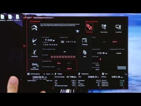 ASUS Z170 5 Way Optimization ( Auto Tuning and Fan Xpert
