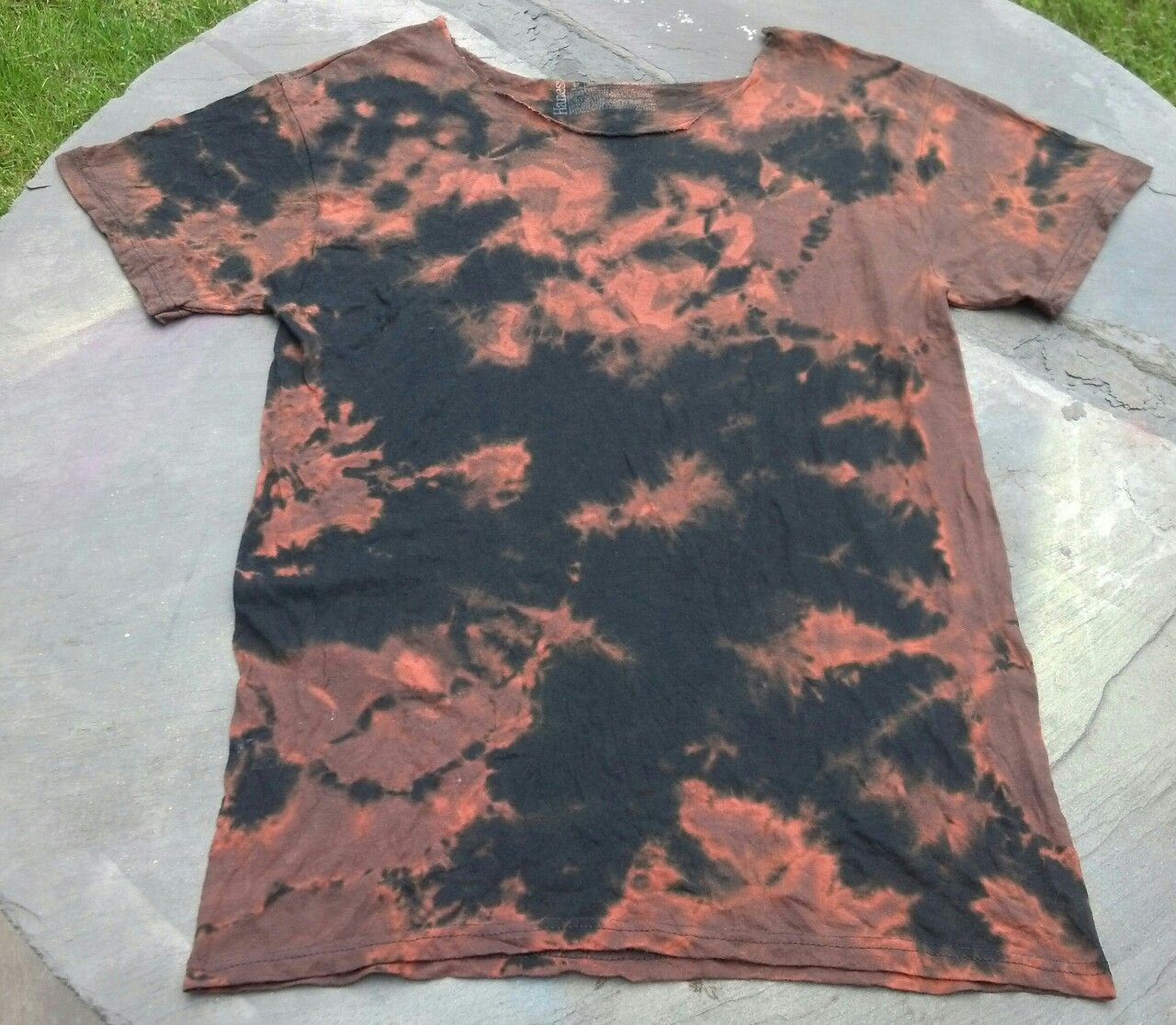 Reverse bleach dye on black shirt | DIY - Let's Get Crafty ...