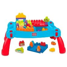 Mega Bloks Mesa Preescolar 3 En 1 Marcas Mega Bloks