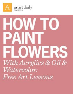 Download this free tutorial to learn how to paint flowers with acrylic.