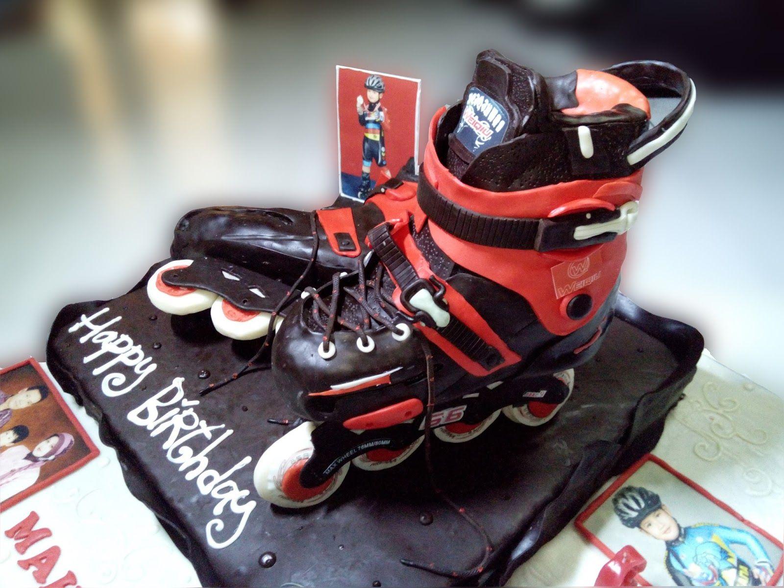 Toko Coklat Coklat Kue Ulang Tahun Cake Cupcake Tart Kue Ulang Tahun Inline Skate Ulang Tahun