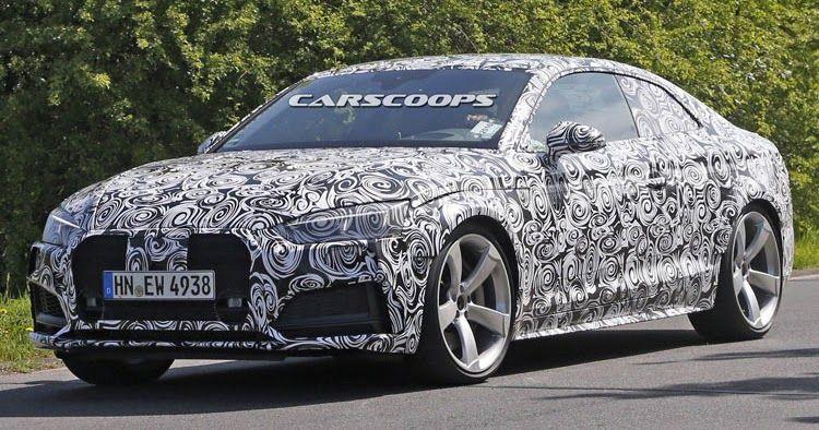 Audi Rolls Out RS5 Test Mule, Drops V8 For V6 Turbo #Audi #Audi_A5