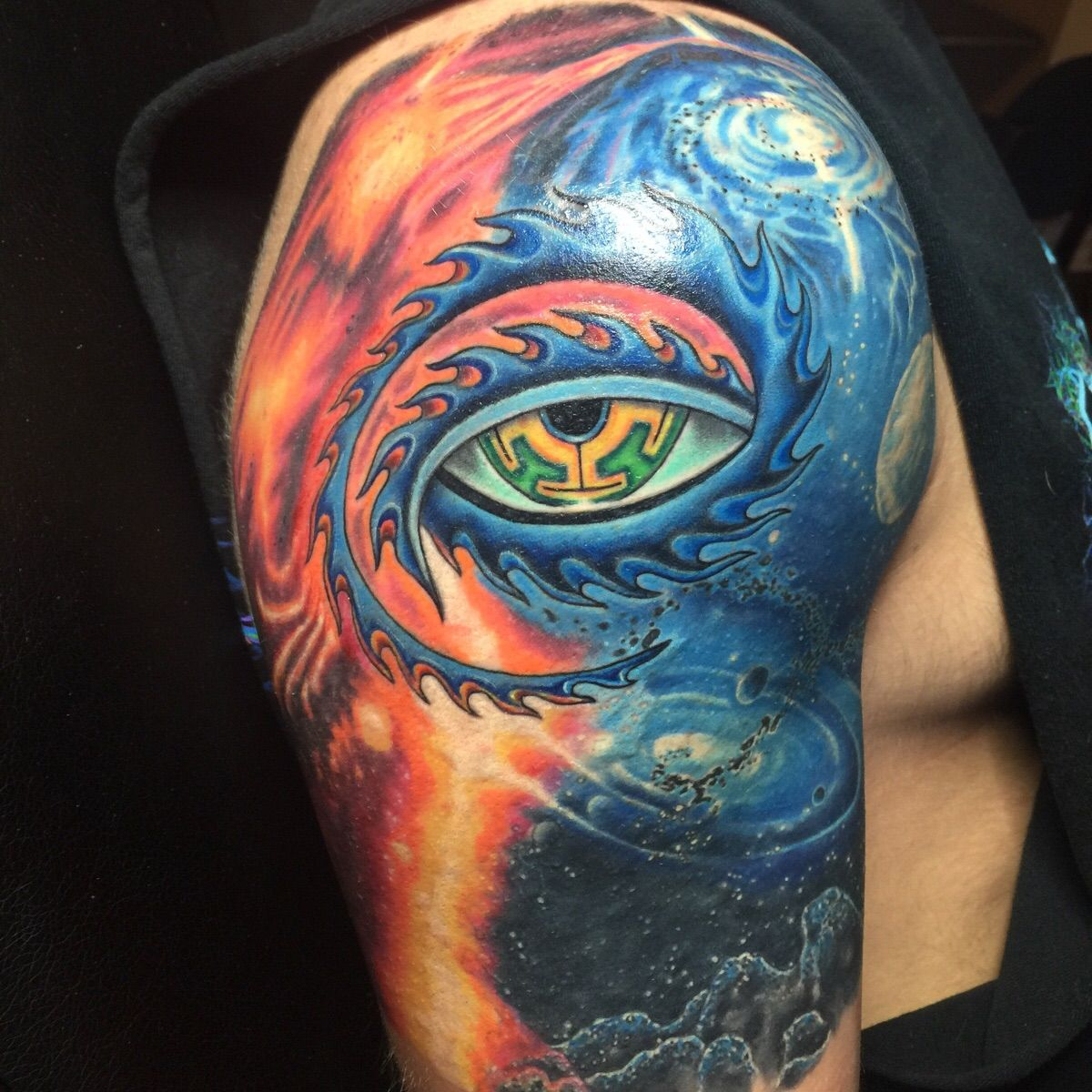 [Update] Tool inspired tattoo is finally done (20 hours