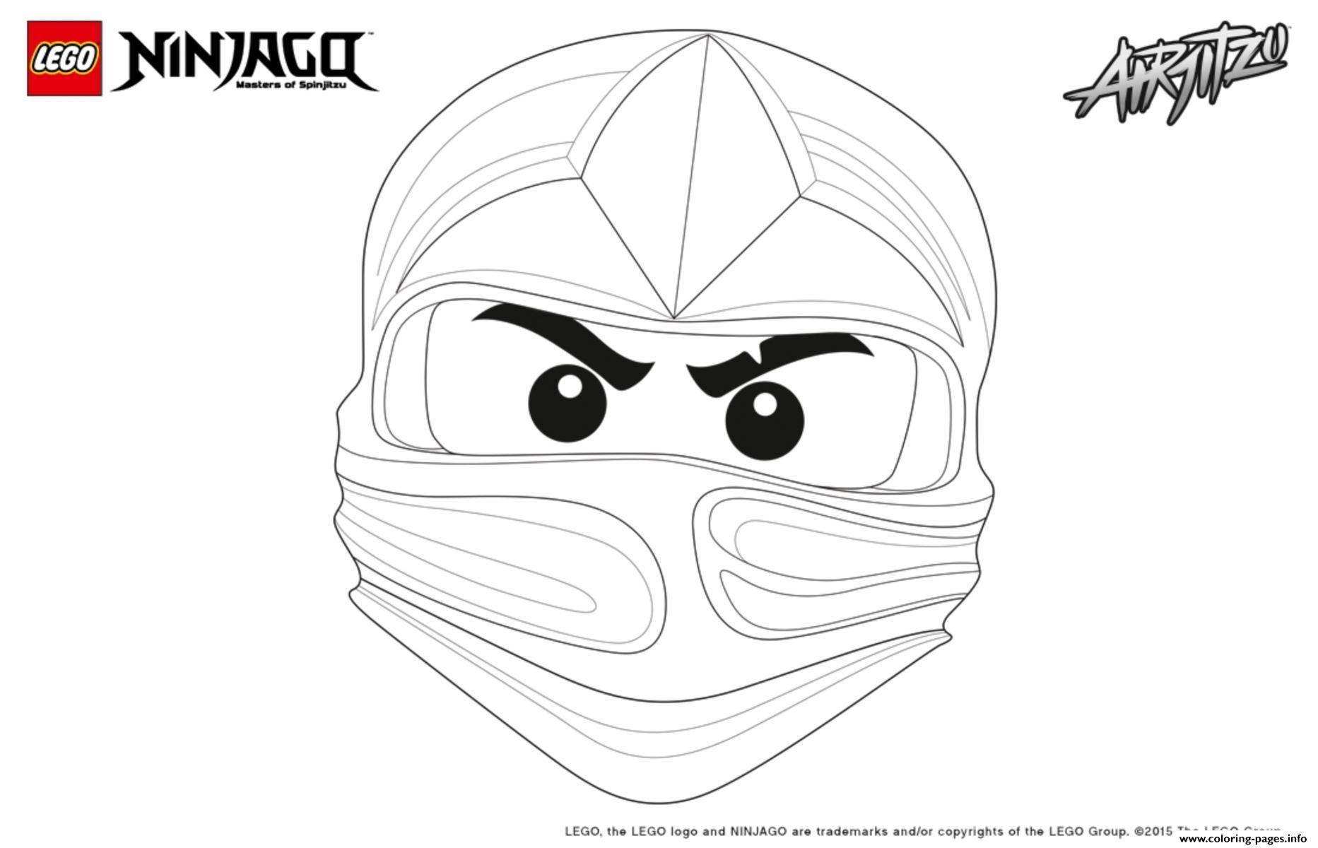 Print Ninjago Lego Kai Coloring Pages Ausmalbilder Wenn Du Mal Buch Ausmalen