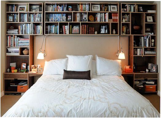 Bedroom Storage By Kerf Design Surrounding Bed Headboard. Best Possible Use  Of Space.