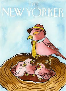 New Yorker Cover - Father's Day