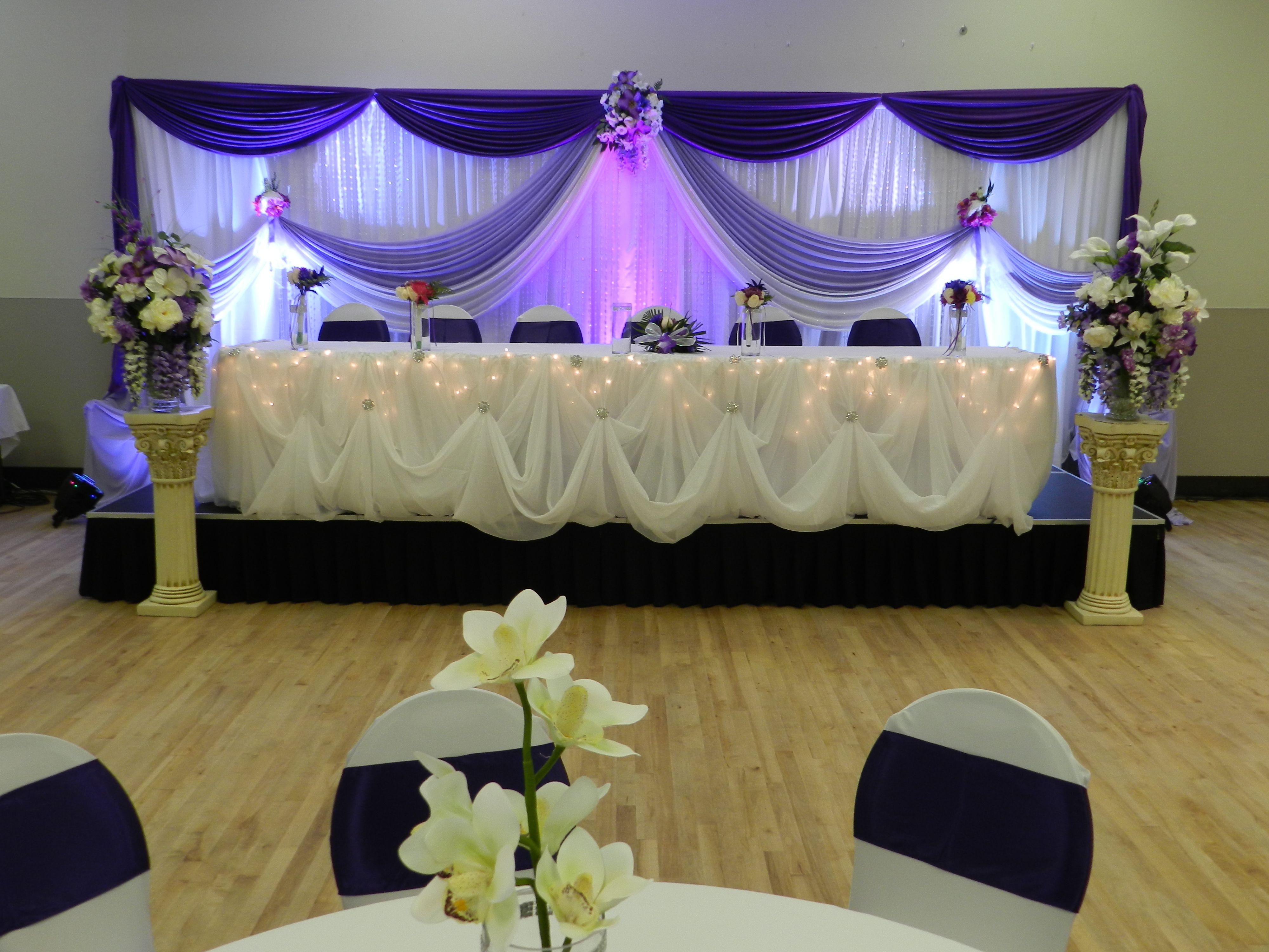 Wedding Reception Backdrop Reception Decoration By Noretas Decor