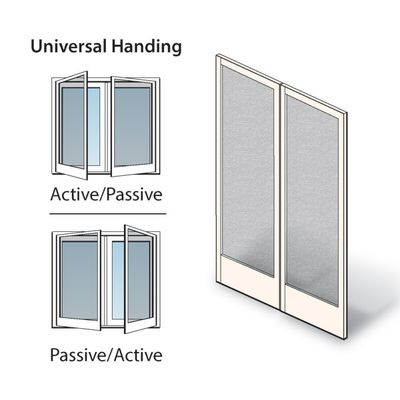 Hinged Patio Door Double Hinged Insect Screen Kit 2576009 Patio