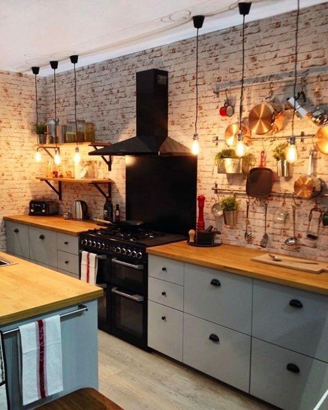 1,543 curtidas, 13 comentários - Ideias Diferentes - küche ikea landhaus
