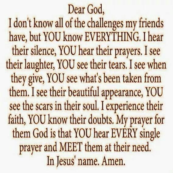 Linda Our Thoughts And Prayers Are With You And Eddie May You Find Peace Comfort And Healing Much Love Prayer For My Friend Dear God Prayer For A Friend