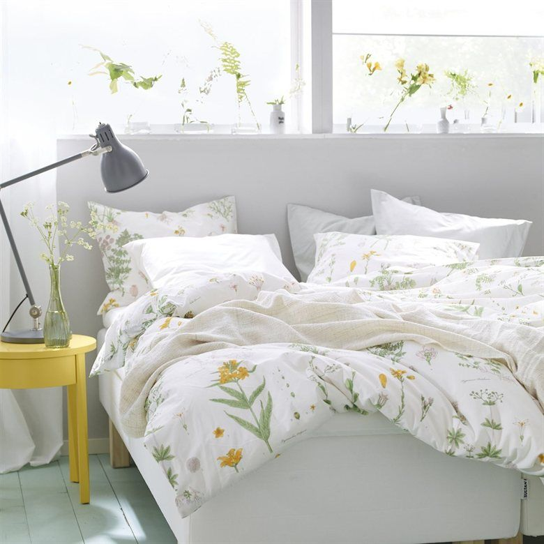 Superbe LOVE This Image   Makes Me Feel Like Spring Is Here | STRANDKRYPA Bedding |  Seasonal Bedroom | Sunshine | STOCKHOLM Bedside Table | Live From IKEA  FAMILY