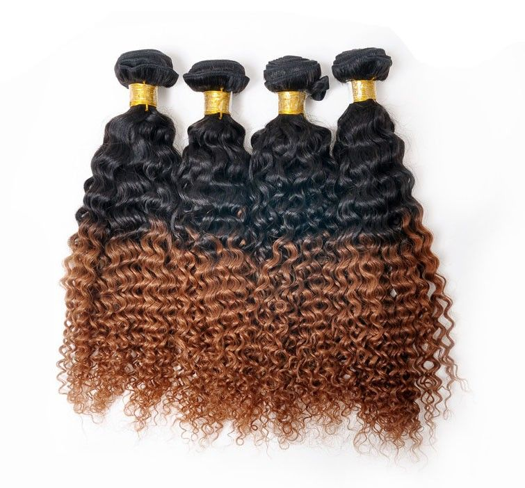 Kinky curly ombre hair 1b30 malaysian remy hair weave kinky curly ombre hair 1b30 malaysian remy hair weave extensions wholesale pmusecretfo Images