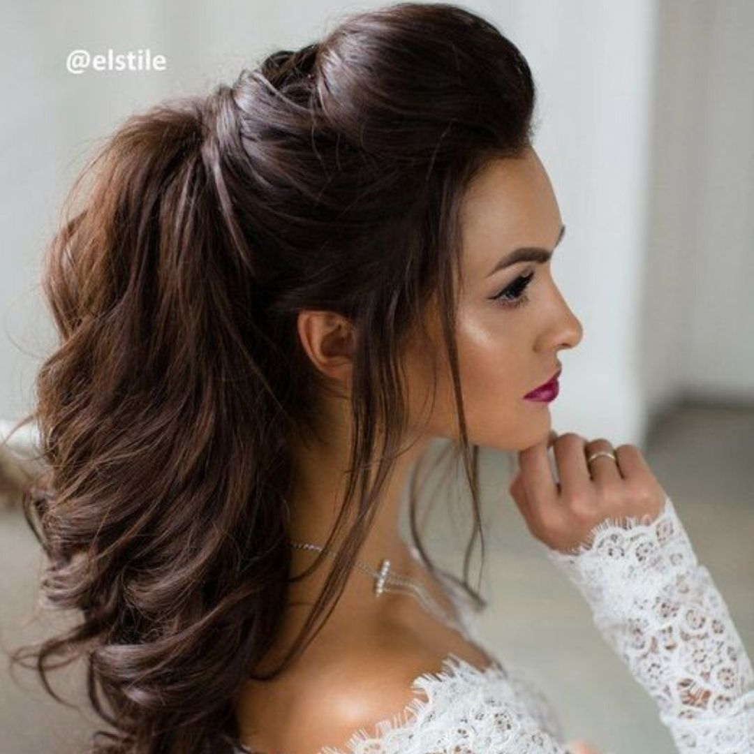 Latest Simple Hairstyle For All Occasions Hair Styles Medium Hair Styles Wedding Hair And Makeup