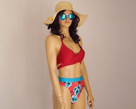 6361e9e5fb Floral bikini set