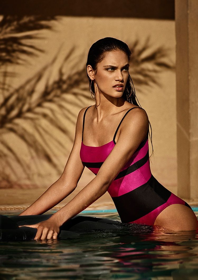 783c034e36 Dalianah Arekion models Sara one-piece from Andres Sarda Swimwear's spring  2017 collection