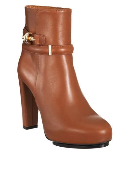 Balenciaga Bit Buckle Ankle Boot