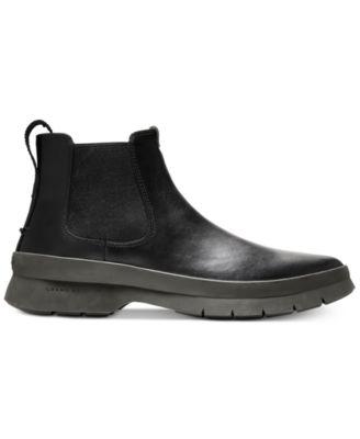 0e4a29b5973 Cole Haan Men s Pinch Utility Waterproof Chelsea Boots - Black 7 ...