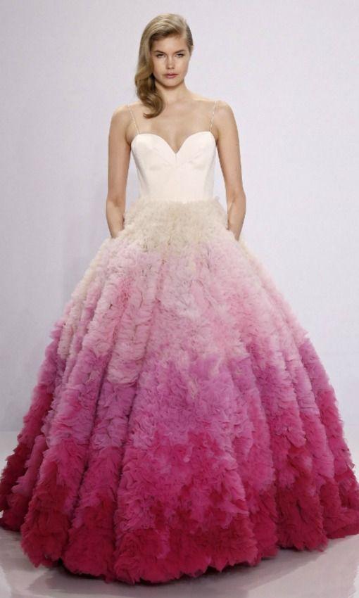 Vestidos de novia de colores ¡23 Diseños Espectaculares! | 15 años ...