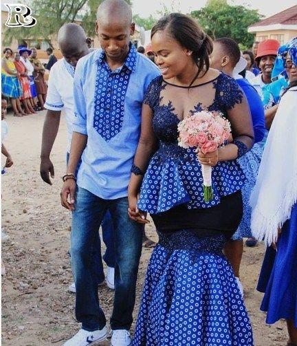 Fabulous Shweshwe Traditional Dresses For Any Women