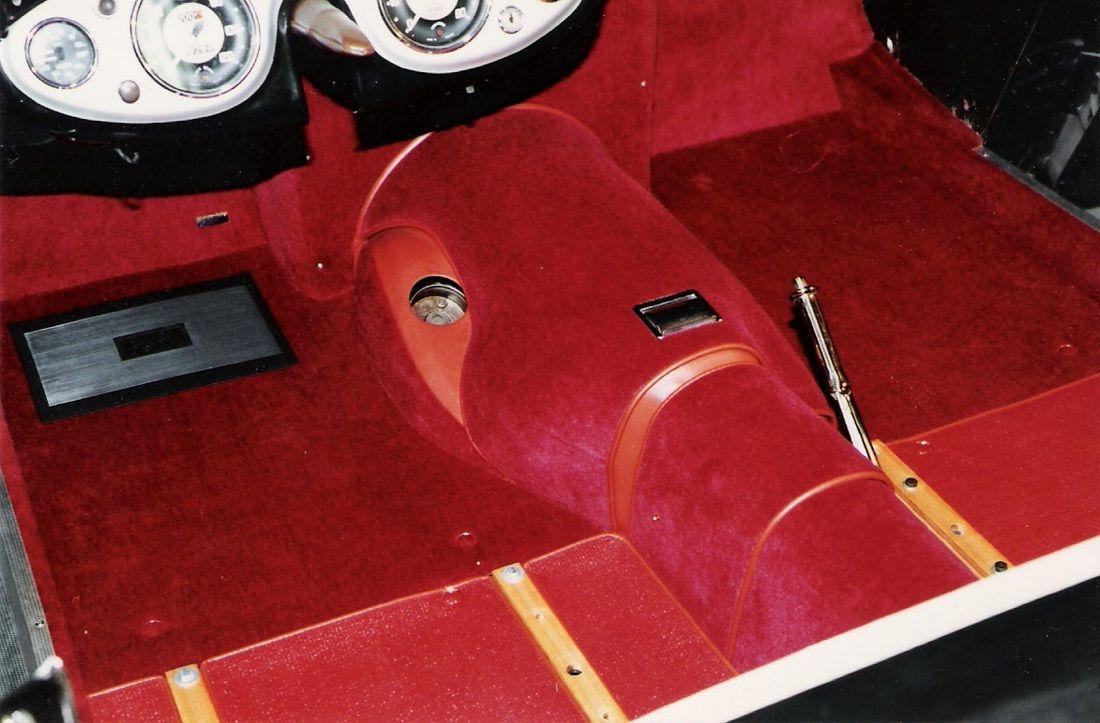 Austin Healey 100/4 a detailed look at interior trim A