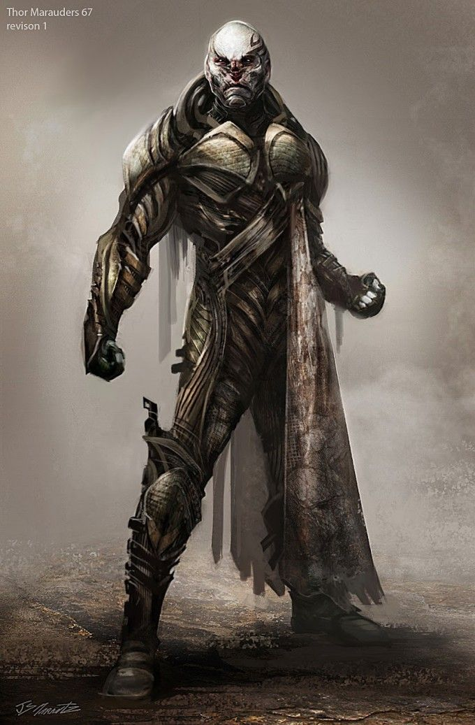 More Thor Dark World concept artwork