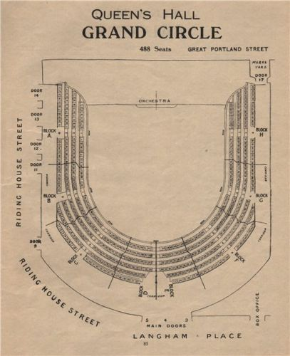 Queen S Hall Seating Plan Grand Circle Concert Hall Langham