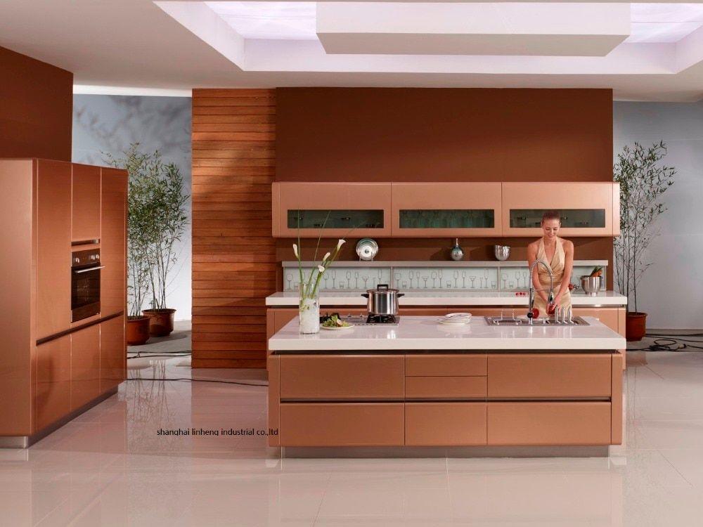 High Glosslacquer Kitchen Cabinet Mordern Lh La056 High Glosslacquer Kitchen Kitchen Cabinets For Sale Cabinets For Sale Modern Kitchen Cabinet Handles