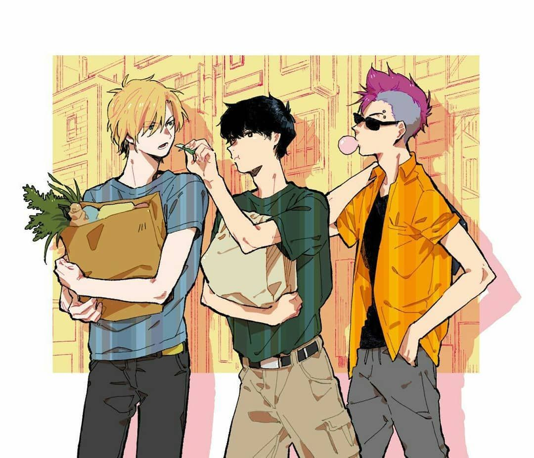 Anime Banana Fish Artist ?? Fish, Anime, Fish art