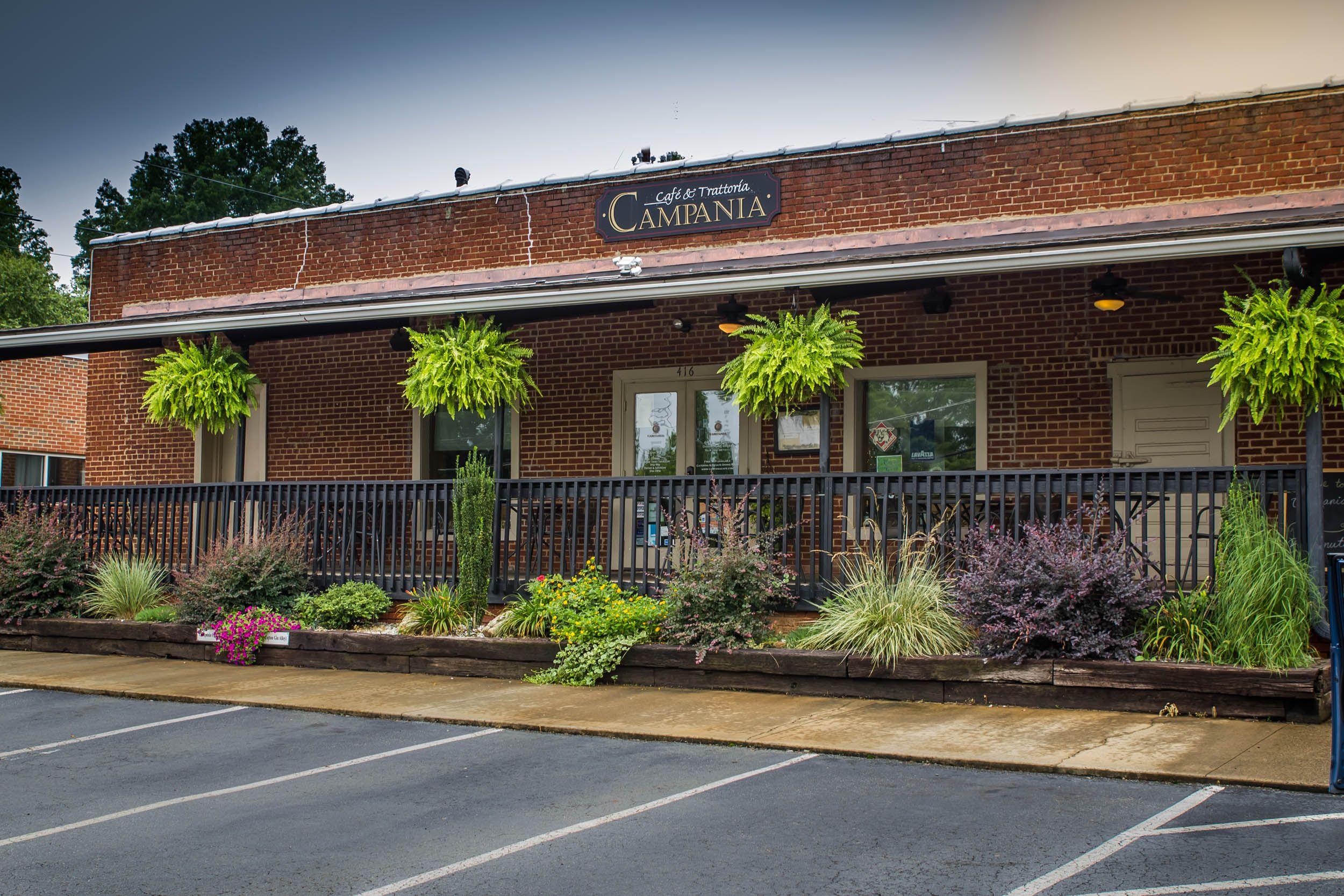 Campania Cafe & Trattoria, located in the Historic Ice