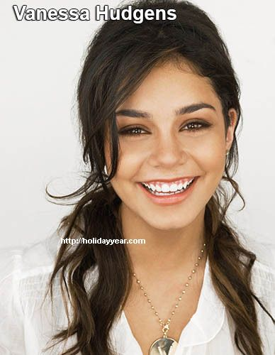 Dec 14 - Vanessa Hudgens, American actress and singer was Born Today. For more famous birthdays http://holidayyear.com/birthdays/