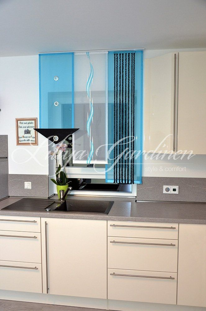 Moderne Küchengardinen