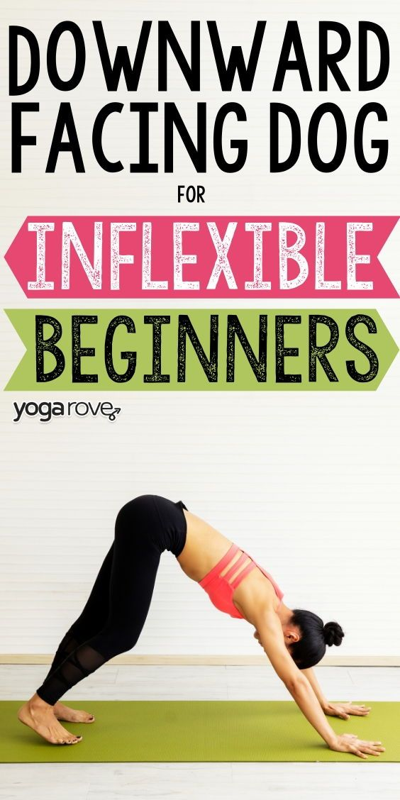 How to Do Downward Dog for Inflexible Beginners in 2020 ...
