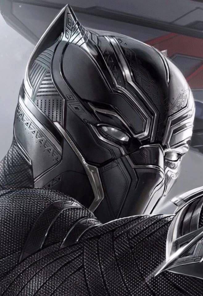 Pantera Negra Black Panther Marvel Super Heroi Super Heroi