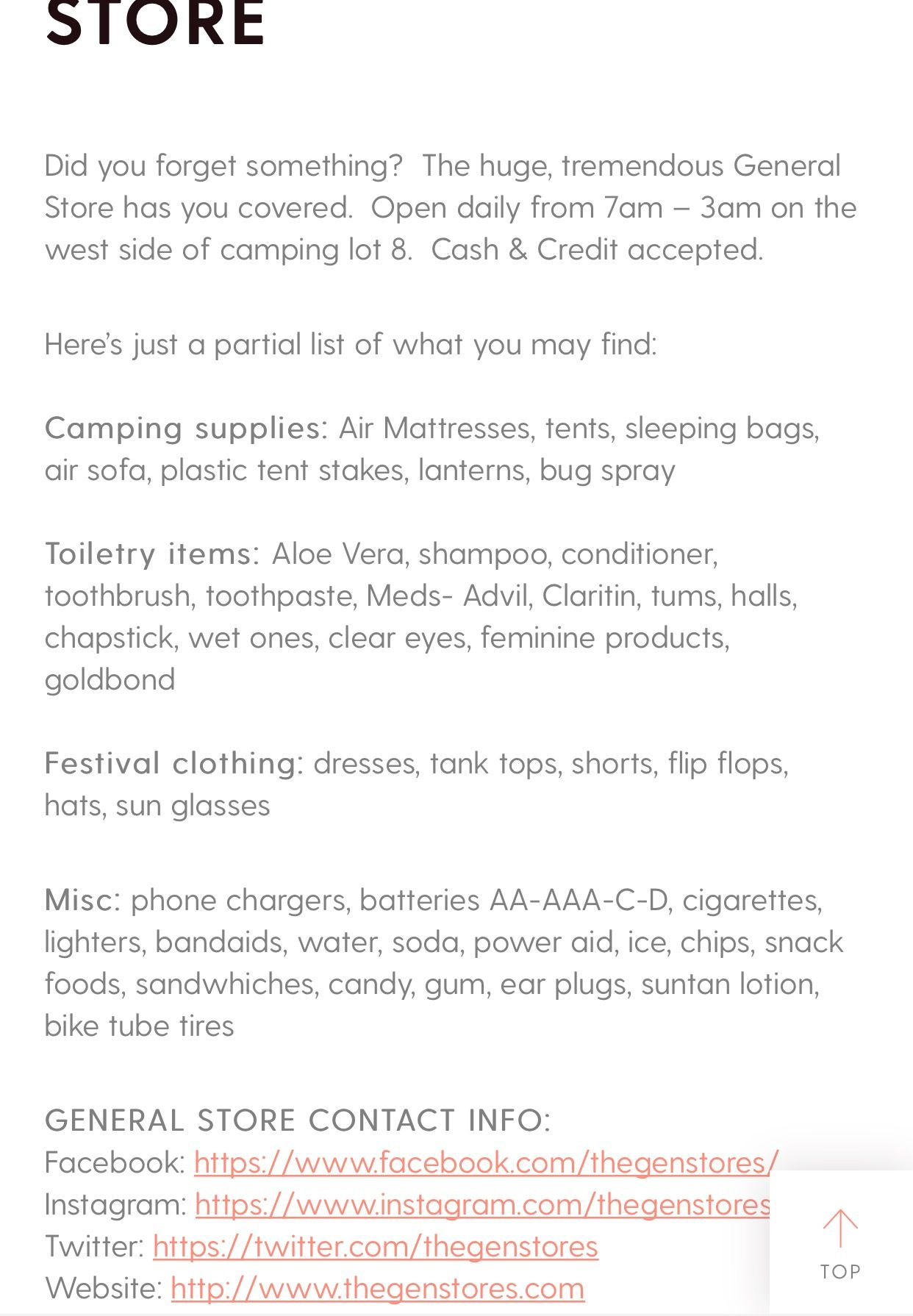Pin by Helen Carmichael on Music Festival Must Haves