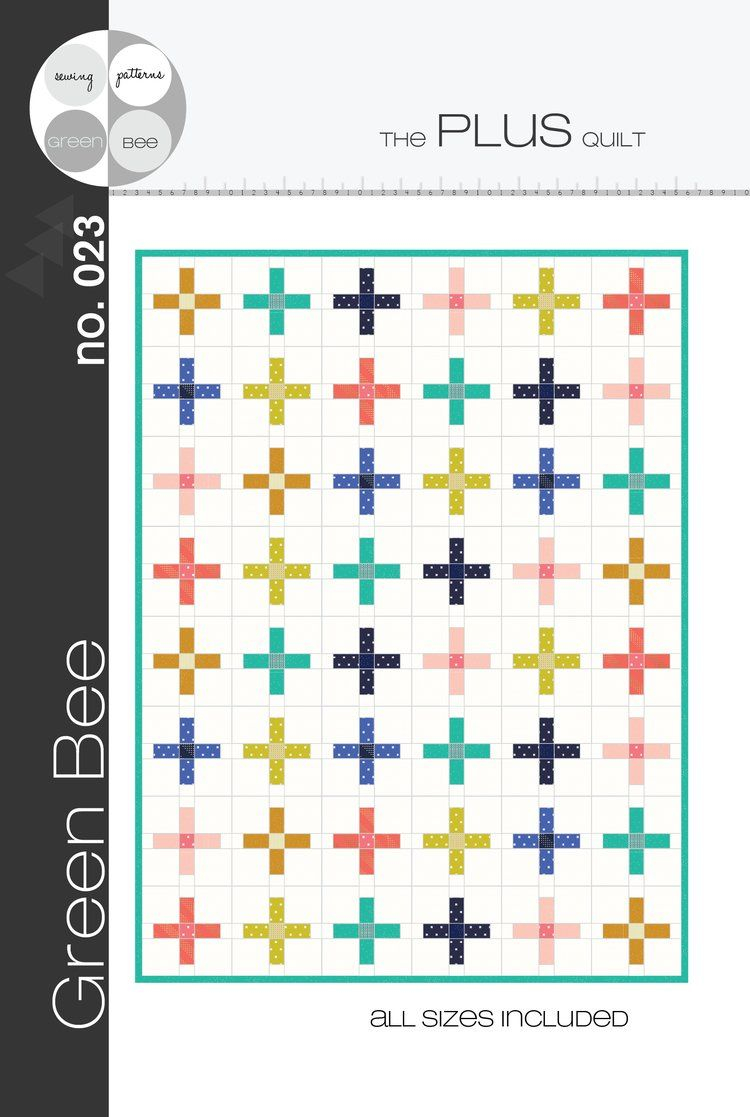 Plus Quilt Pattern Quilt All the Things Pinterest Patterns