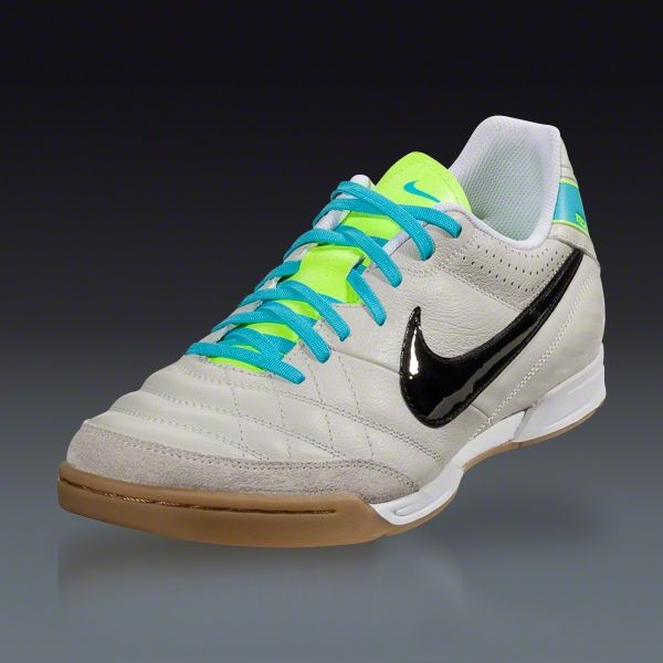 ed58d4a5e1b Nike Tiempo Natural IV LTR IC - Light Bone Black White Indoor Soccer Shoes