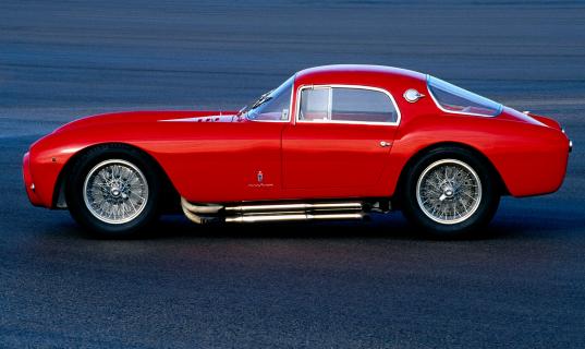 1953-1955. Maserati A6 GCS/53 Berlinetta by Pininfarina.
