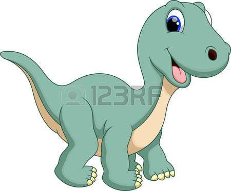 Cute Dinosaur Diplodocus Cartoon Dinosaurier Dinosaurier Bilder Dinosaurierbilder