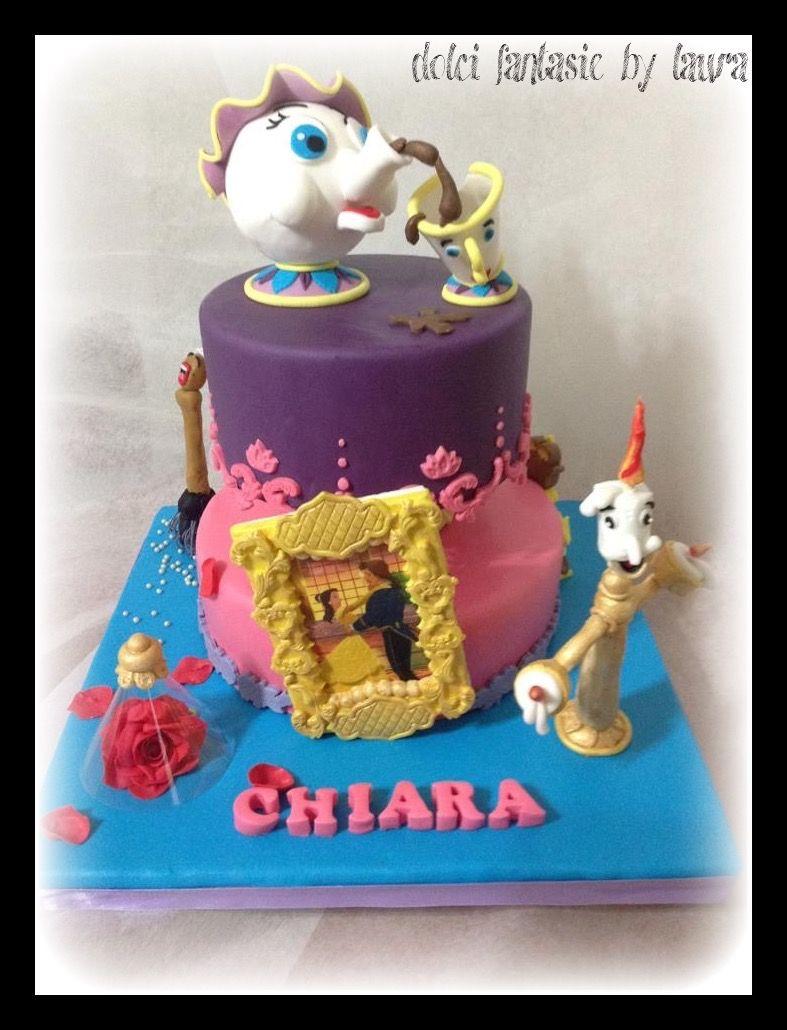 La Bella E La Bestia Cake Torte In Pdz Pinterest Tartas