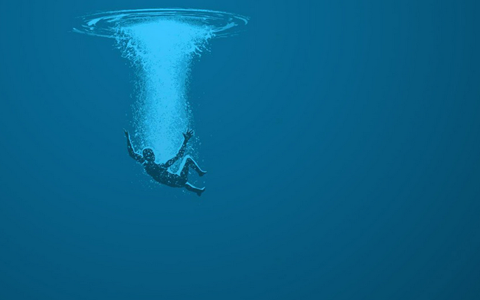 Underwater man   Drowning art, Person underwater, Underwater art