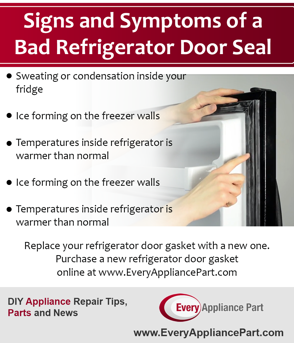 How To Replace And Repair A Refrigerator Door Seal Or Gasket Door Seals Refrigerator Door Repair